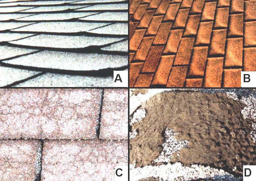 how to fix cupping shingles